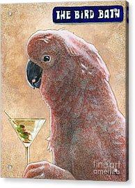 The Bird Bath... Acrylic Print