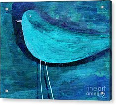 The Bird - Bl07a Acrylic Print by Variance Collections