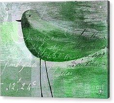 The Bird - Gr-j099225225-02 Acrylic Print