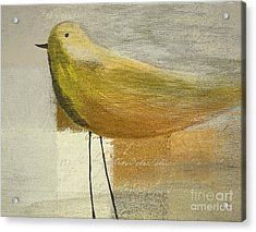 The Bird - J100124164-c23a Acrylic Print by Variance Collections