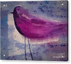 The Bird - K09144 Acrylic Print by Variance Collections