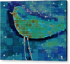 The Bird - Mdsa03bll Acrylic Print
