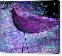 The Bird - S40b Acrylic Print by Variance Collections