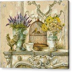 The Birdcage Acrylic Print by Elizabeth Coats
