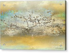 Acrylic Print featuring the photograph The Birdy Tree by Chris Armytage