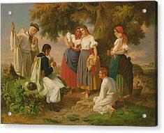 The Birth Of The Folk-song Acrylic Print