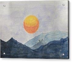 The Birth Acrylic Print by Sonali Gangane