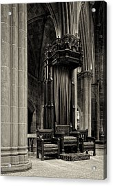 The Bishops Chair Acrylic Print by Dick Wood