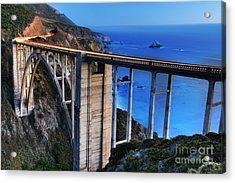 The Bixby Bridge  Acrylic Print
