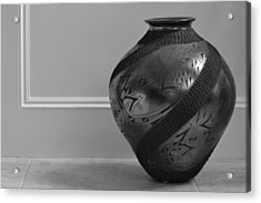 Acrylic Print featuring the photograph The Black Pot by Nadalyn Larsen