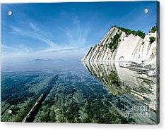 The Black Sea Coast Acrylic Print by Vladimir Sidoropolev