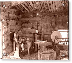 The Blacksmith Shop Acrylic Print