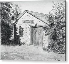 The Blacksmith's Shop Acrylic Print by Dan Haley