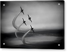 The Blades In Formation Sunderland Air Show 2014 Acrylic Print