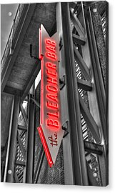 The Bleacher Bar Acrylic Print by Joann Vitali