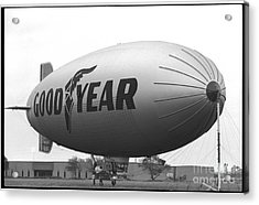 The Goodyear Blimp In 1979 Acrylic Print
