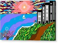 The Bliss Resort Acrylic Print by Lewanda Laboy