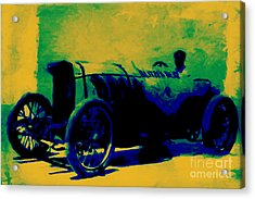 The Blitzen Benz Racer - 20130208 Acrylic Print by Wingsdomain Art and Photography
