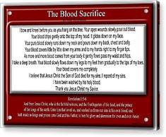 The Blood Sacrifice Acrylic Print