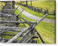 The Bloody Lane At Antietam Acrylic Print by Paul W Faust -  Impressions of Light