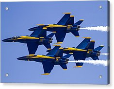 The Blue Angels In Action 1 Acrylic Print