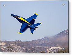 The Blue Angels In Action 4 Acrylic Print