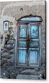 The Blue Door 1 Acrylic Print by James Brunker