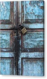 The Blue Door 2 Acrylic Print by James Brunker