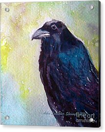 The Blue Raven Acrylic Print