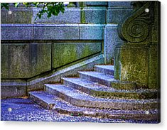 The Blue Stairs Acrylic Print
