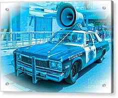 The Blues Brothers Acrylic Print by Edward Fielding