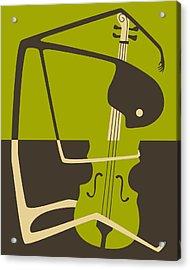 The Blues Cello Acrylic Print