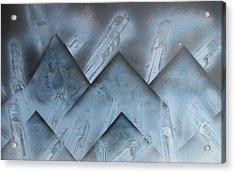 Blue Mountain Way Acrylic Print