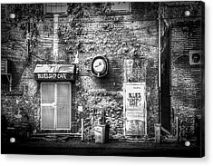 The Blues Ship Cafe Acrylic Print by Marvin Spates