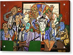 The Board Room Acrylic Print by Anthony Falbo