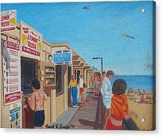 The Boardwalk At Daytona Beach Acrylic Print
