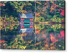 The Boat House Acrylic Print