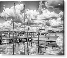 Acrylic Print featuring the photograph The Boat by Howard Salmon