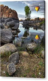 The Bobber Acrylic Print by Sean Foster