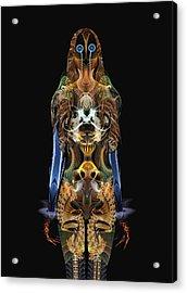 The Body Acrylic Print by Bear Welch