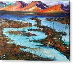 The Bog Acrylic Print