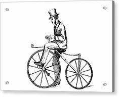 The Boneshaker Bicycle Acrylic Print by Universal History Archive/uig