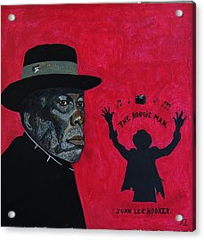 The Boogie Man.john Lee Hooker. Acrylic Print