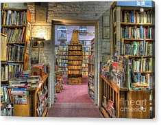 The Bookstore Acrylic Print