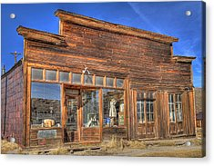 The Boone Store And Warehouse Acrylic Print by Donna Kennedy