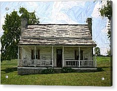 The Bottom House II - Perryville Ky Acrylic Print by Thia Stover