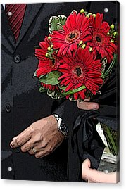 Acrylic Print featuring the photograph The Bouquet by Zinvolle Art