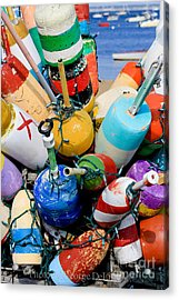 The Bouys Are Back In Town Acrylic Print