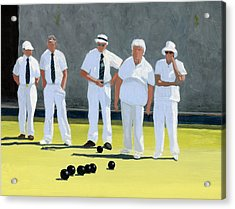 The Bowling Party Acrylic Print