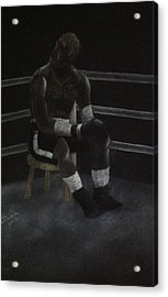 The Boxer 2013 Acrylic Print by Carl Frankel